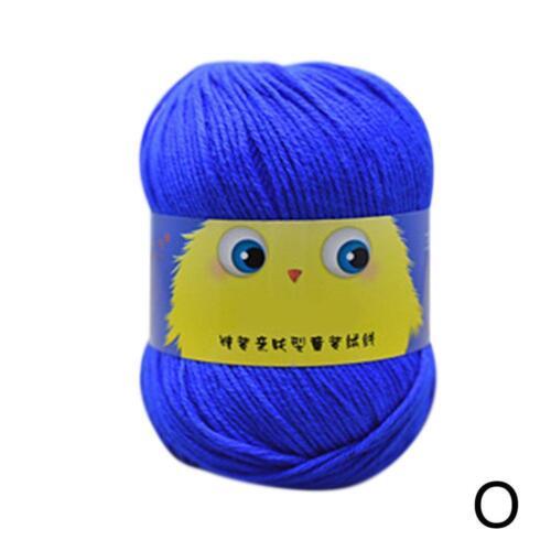 Multicolor Ball 50g Knitting Crochet Yarn Milk Baby Cotton Natural Wool-Yarn