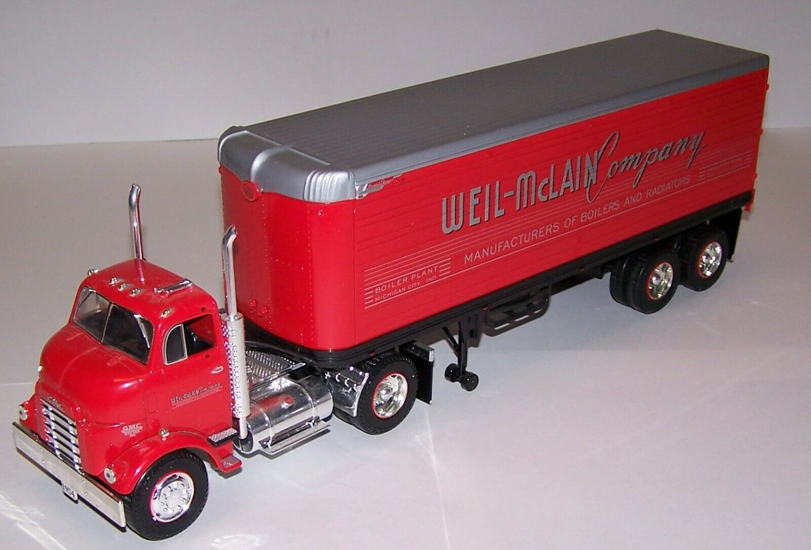Weil McLain Heating Professionals Contractor Collections NO.9 Tractor Trailer
