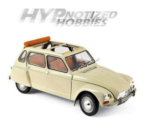 Norev 1 18 1970 Citroen Dyane 6 Modellino Beige 181620