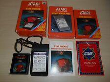 Star Raiders Complete Game In Box Atari 2600 CIB w/ Touch Pad
