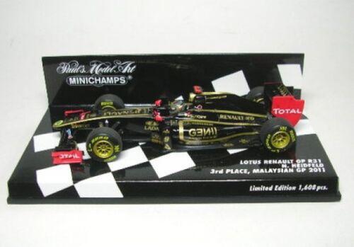LOTUS RENAULT GP r31 n Heidfeld Malaysian GP 2011 9 N