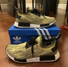 f2bf37ab6 adidas NMD Runner PK Primeknit Yellow Gold Camo 100 Authentic S42131 ...