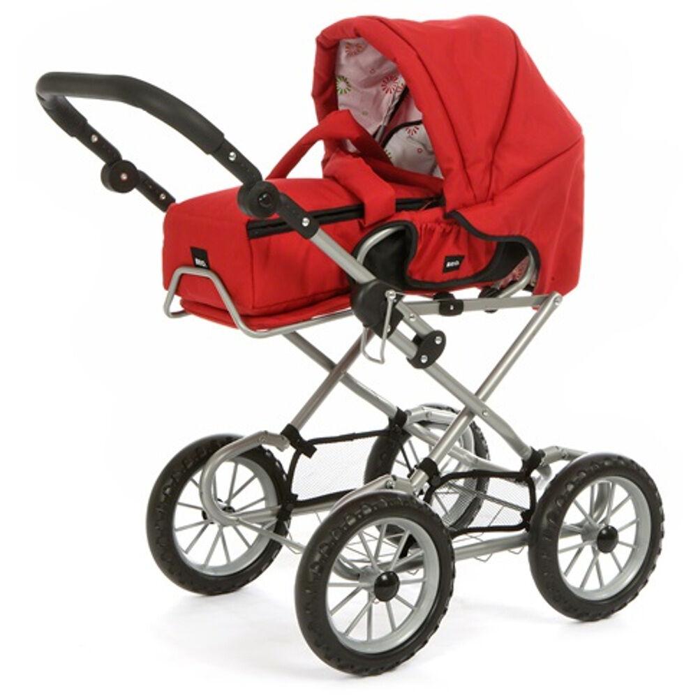 Puppenwagen Combi Kombi Brio rot 24891318