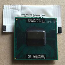 Intel Core 2 Duo T7800 2,6 GHz Dual-Core 4M/800 Prozessor Sockel P SLAF6