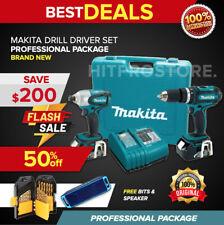 New Makita 18v Lxt Lithium Ion 2 Pc Combo Kit With Free Speaker Bits Set