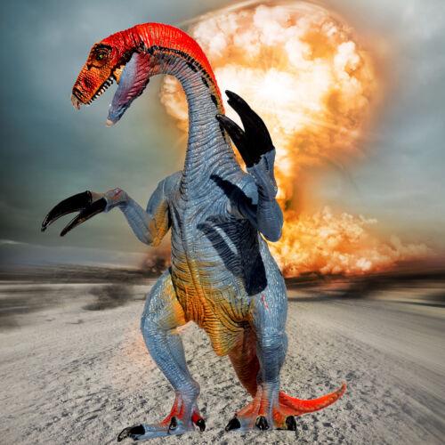 New Large Realistic Therizinosaurus Action Figure Dinosaur Toy Educational Model