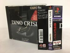 Playstation PS1 Dino Crisis Japan JP GAME, w/spine z1129