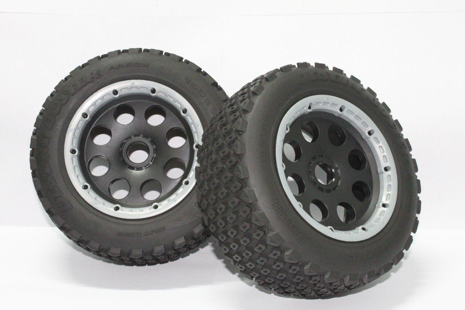 Juego de ruedas 5T Trasero fuera de carretera para 1 5 HPI Rovan KM Baja 5T piezas
