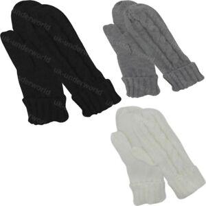 Children Gloves Winter Warm Striped Mitten With Rope Kids Comfort Knitted Gloves