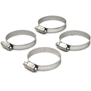 Set of 4 Murray Boat Hose Clamp 32Type F 2 1//2 Inch Stainless Steel