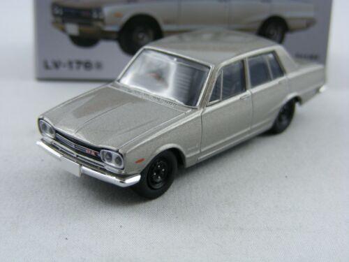 /'69 Nissan Skyline 2000gt-r en plata Tomica Tomytec Limousine vintage lv-176a,1//64