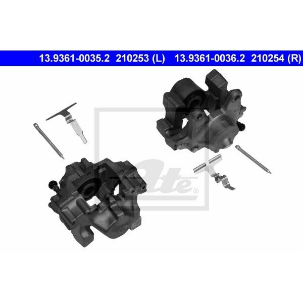 Bremssattel Bremszange ATE 13.9361-0035.2