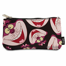 Cheshire Cat Alice Wonderland Pouch Cosmetic Bag Purse Loungefly Disney Store