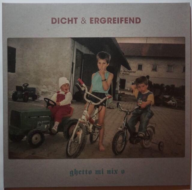Dicht und Ergreifend - Ghetto Mi Nix O 2LP/Download NEU 200g vinyl Klappcover