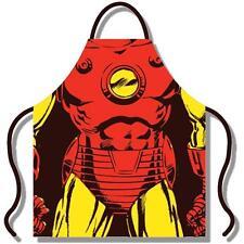 Iron Man - Traje Delantal Algodón Adulto - & Marvel Comics Oficial En Paquete