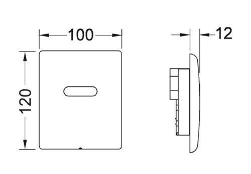 TECEplanus Urinal-Elektronik weiß 9242355