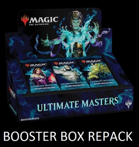 Details about Ultimate Masters Booster Box Repack - UMA - MTG - Guaranteed  Mythic NM/M