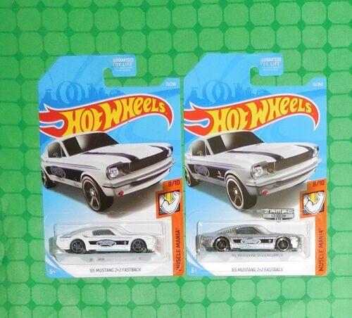 2019 Hot Wheels Muscle Mania #72 w// Zamac Version /'65 Mustang 2+2 Fastback