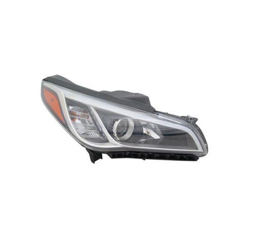 NEW Head Light Halogen Fits For Hyundai Sonata 2015-2017 Right Side HY2503183