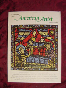 AMERICAN-ARTIST-December-1969-Gustave-Dore-Robert-Clark-Gerard-Curtis-Delano