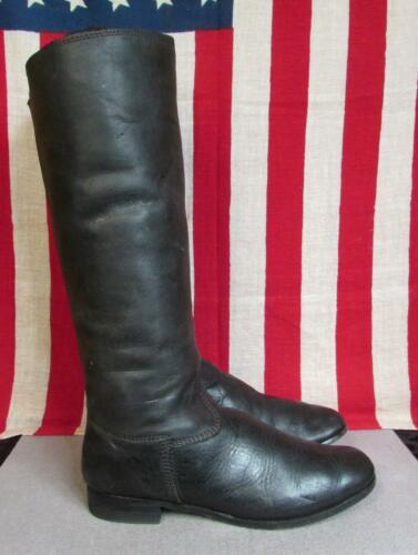 a545883df23 ... Vintage 1960s Leather Western Riding Boots Tall Equestrian Motorcycle  11