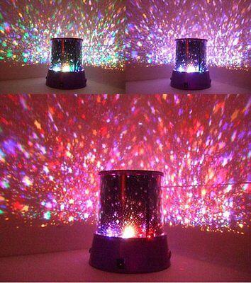 LED Sternenhimmel Romantik Himmel Projektor Lampe Nachtlicht für Kinder & Deko