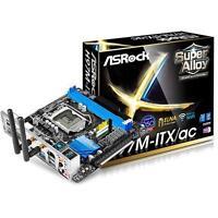 ASRock H97M-ITX/ac Intel H97, LGA 1150, USB 3.0, WiFi, Mini-ITX Motherboard
