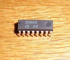 2 x D 346 D   ( = 2 pcs = BCD zu 7-Segment Dekoder, Treiber )