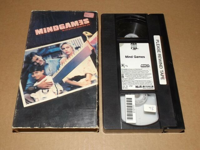 Mind Games vhs video Mindgames