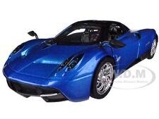 PAGANI HUAYRA BLUE 1/24 DIECAST CAR MODEL BY MOTORMAX 79312