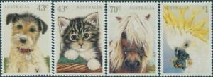 Australia-1991-SG1299-1302-Domestic-Pets-set-MNH