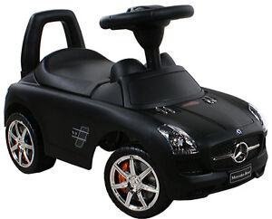 Baby Walker Car Mercedes Sls Amg 332 Rides Ons Push Along
