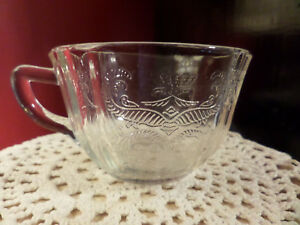 Madrid Pattern Federal Depression Glass Clear Cup (1) from ...