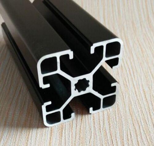 4040 X40 OXIDE BLACK T-SLOT ALUMINUM EXTRUSION FRAMING 200-600MM CUT CNC 3D