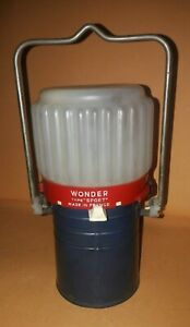 Battery lamp lume torch Wonder Type sport France  Lampada a pila vintage
