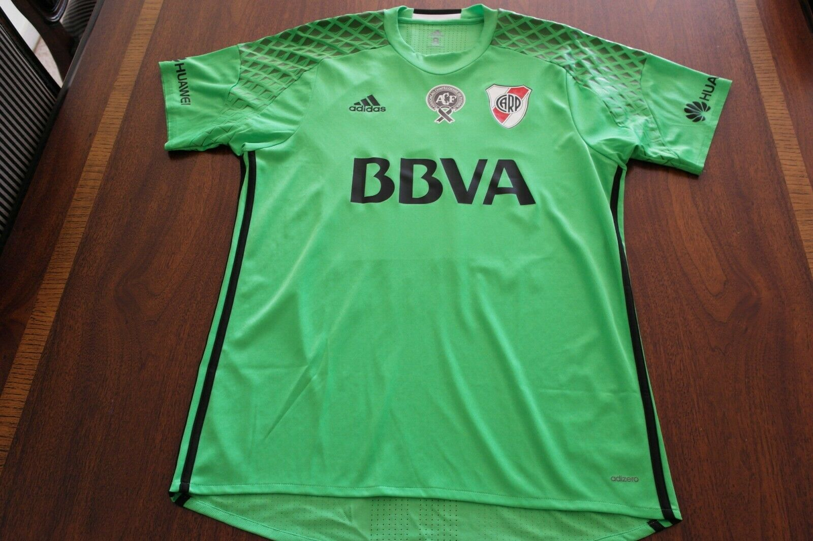 RIVER PLATE DRIUSSI MATCH WORN ISSUE hemd