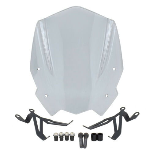 Front Windscreen Windshield Shield with Bracket For 2016-2019 BMW G310R G 310 R