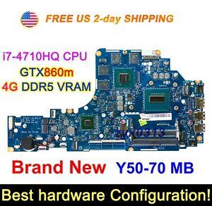 New-Lenovo-Y50-70-ZIVY2-LA-B111P-w-i7-4710HQ-CPU-GTX860m-GPU-4G-VRAM-Motherboard
