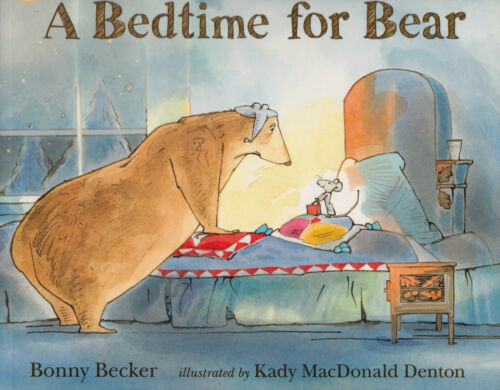 1 of 1 - A Bedtime for Bear BRAND NEW BOOK by Bonny Becker (Paperback, 2011)