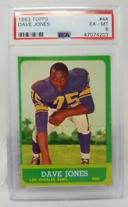 1963-Topps-44-Dave-Deacon-Jones-RC-PSA-6-Los-Angeles-Rams-HOF