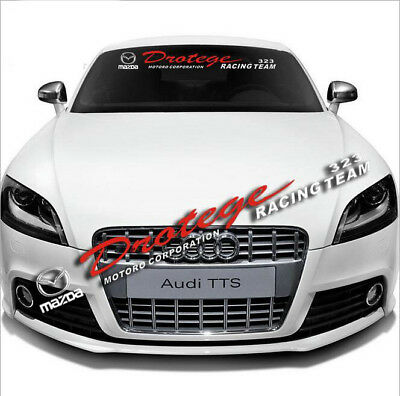 Car Front Windshield Banner Reflective Decal Auto Sticker for MAZDA Diatege