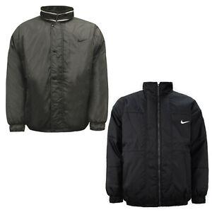Nike réversible pour homme à col réversible veste beige noir