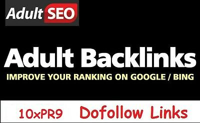 Your Escort, Dating, Gambling, Pharma, Adult Site on 10 up to PR9 Sites  Dofollow | eBay