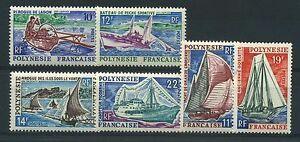 POLYNESIE-N-36-41-034-BATEAUX-034-NEUFS-XX-TTB