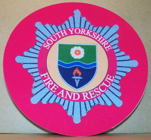 Fire and Rescue Service South Yorkshire  vinyl sticker.