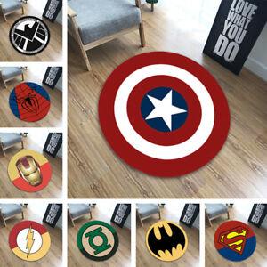 Super Hero Carpet Bathmat Floor Pet Mat Rug Non-slip Door Play Mats Home Decor