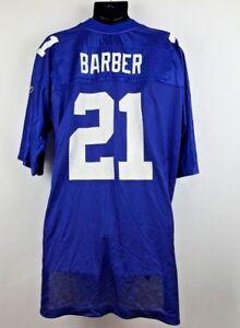 Reebok Tiki Barber Jersey #21 New York Giants Game Day Night NFL