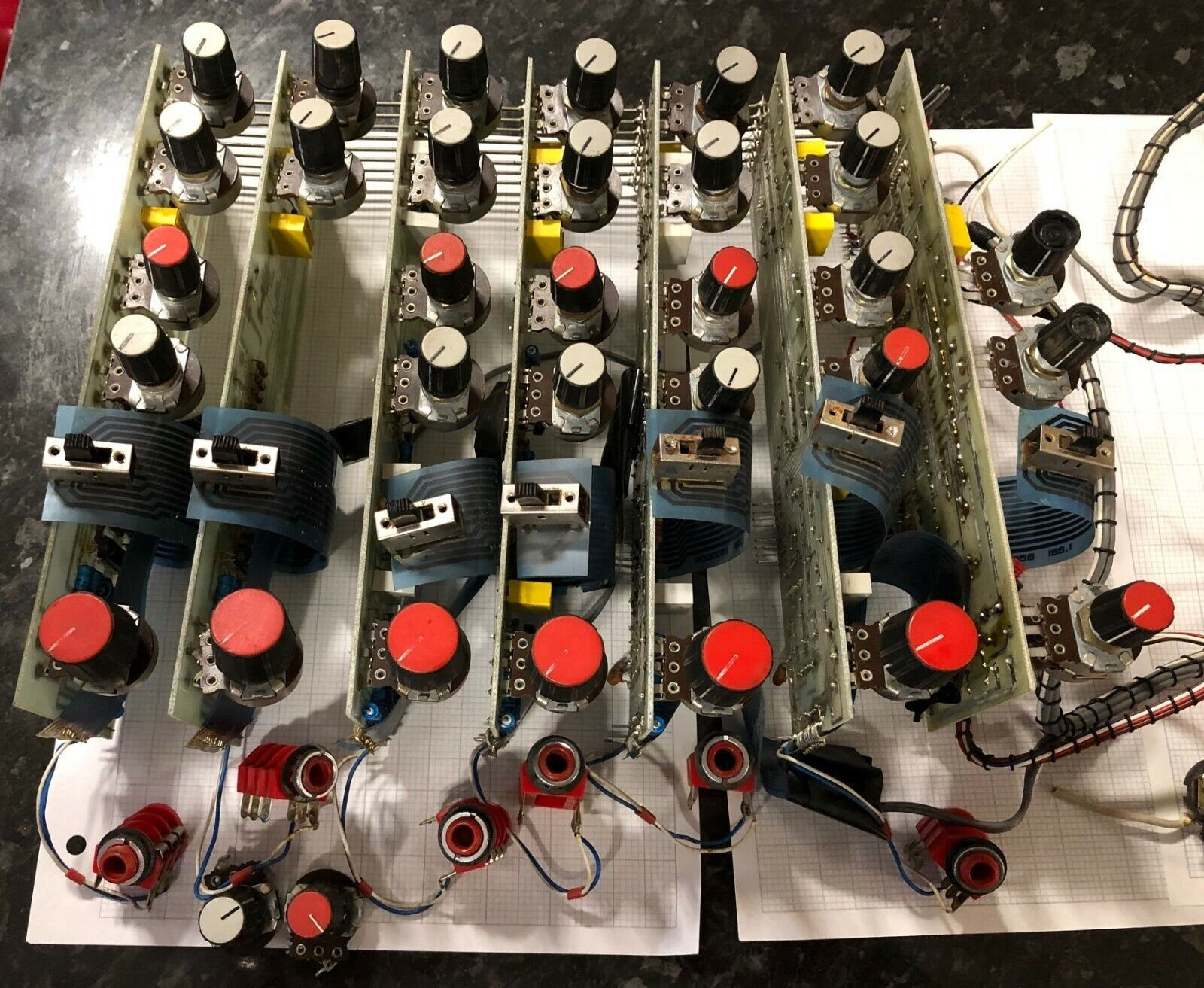 1970'S HH SM200 PARTS (Channel PCB Assembly)