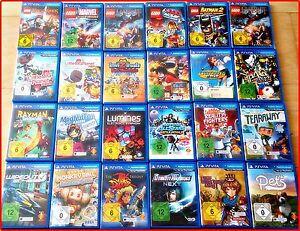PSVita-NEU-Games-Auswahl-LEGO-MARVEL-Assassis-Batman-Big-Planet-Invisimals