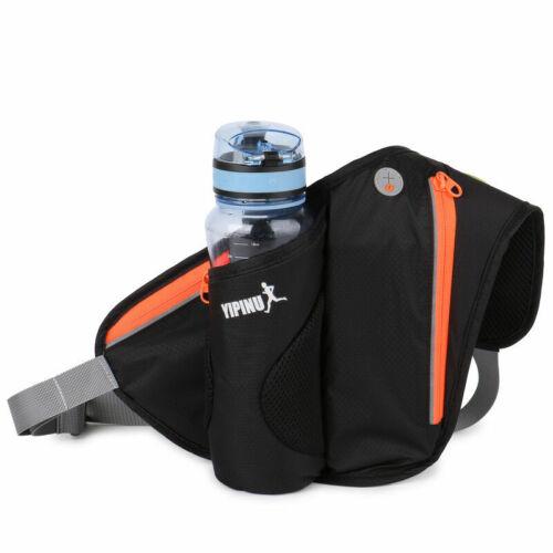 Sport Waist Fanny Pack Sling Cross Body Bag Belt water Bottle Holder Running